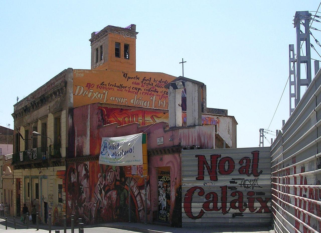 Barcelona okupa Can Vies . Foto: Otto Normalverbraucher (wikipedia)