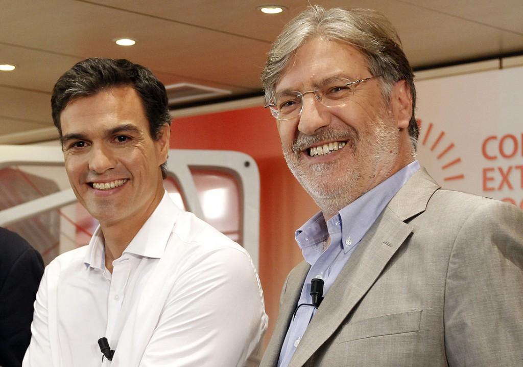 Tapias y Pedro Sánchez