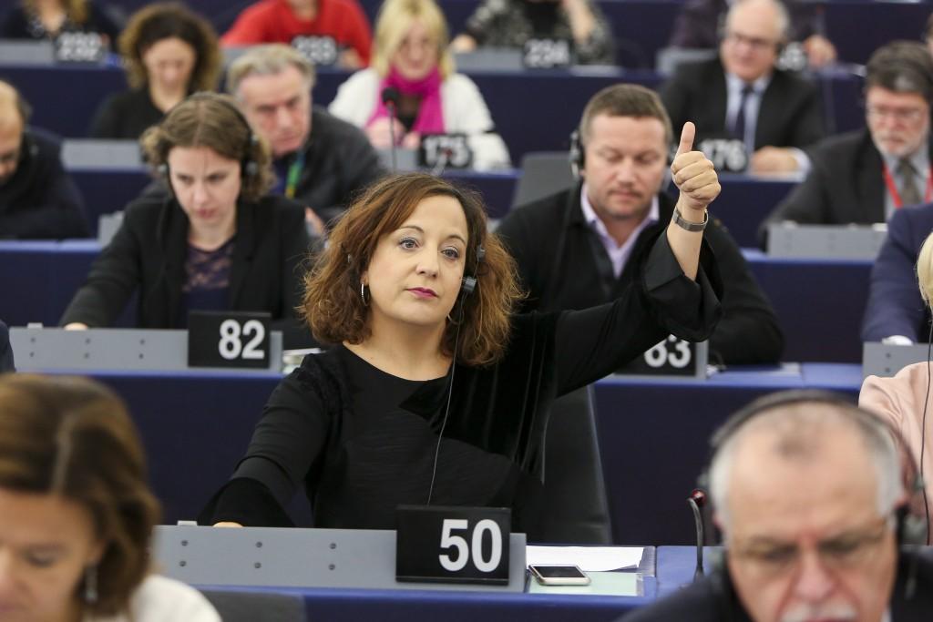 Iratxe Garcia eurodiputada PSOE europa