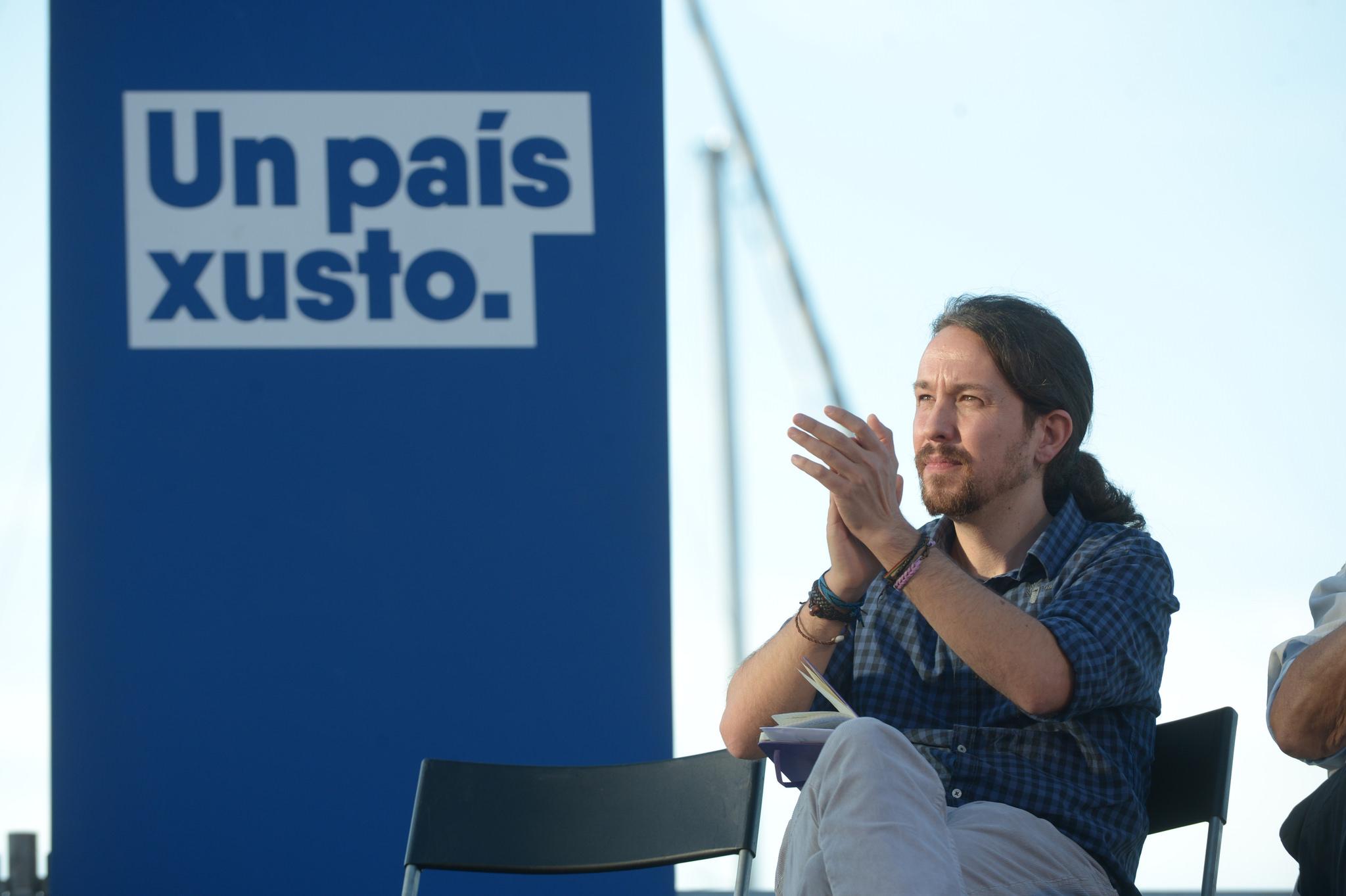 Pablo Iglesias En Marea Galicia