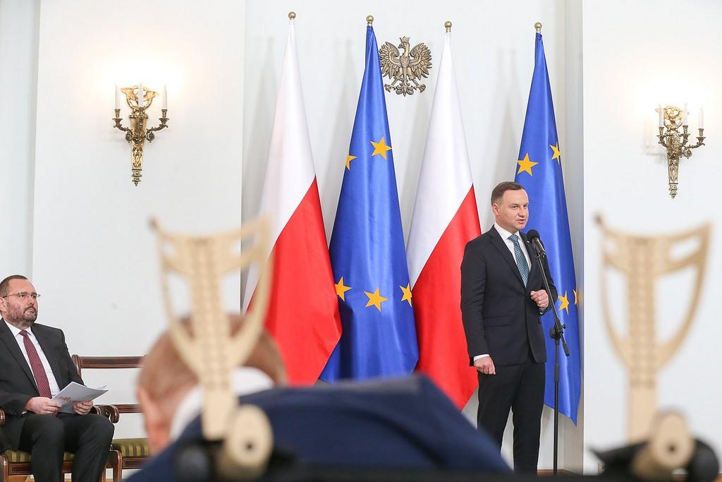 Presidente de Polonia Andrzej Duda. 26-09-2016. Fuente: Flickr de Presidencia: Kancelaria Prezydenta