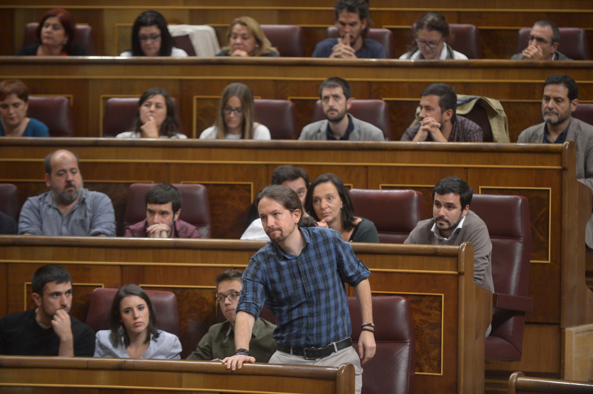 Pablo Iglesias Podemos Congreso investidura