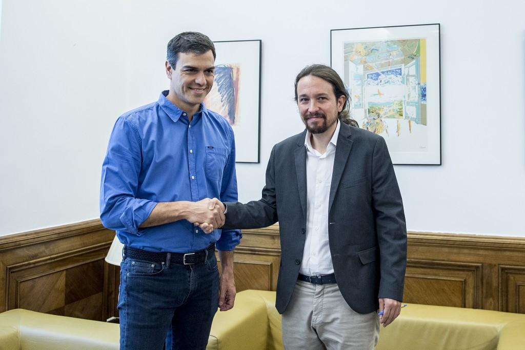 Iglesias y Sánchez se reúnen de nuevo 27-6-2017