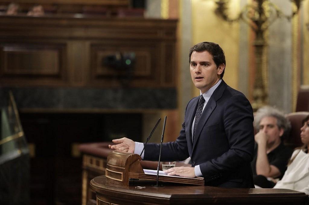Albert Rivera Congreso Diputados