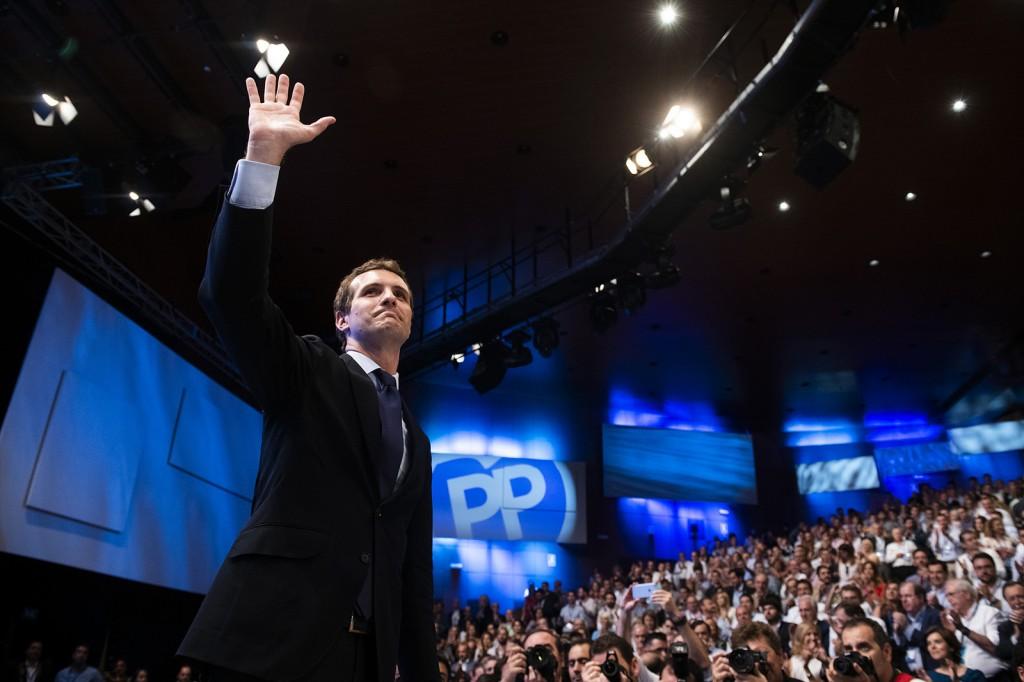 Pablo Casado 19 Congreso Nacional Extraordinario PP