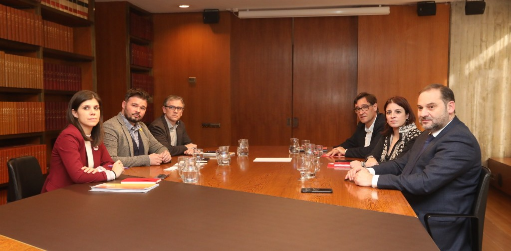 reunion PSOE ERC noviembre 2019