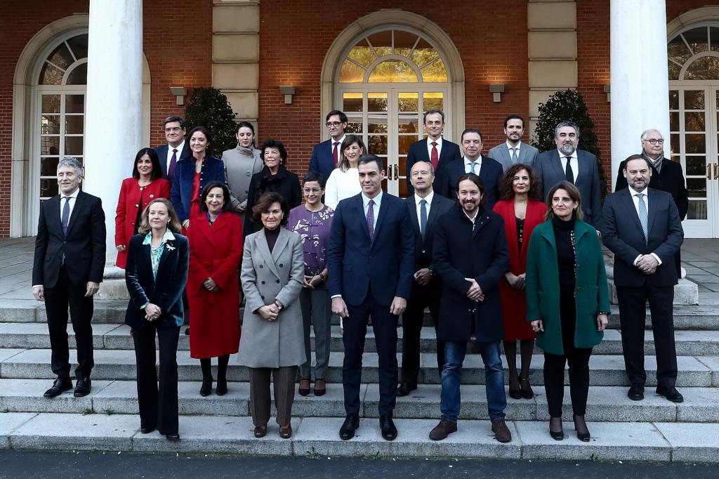 Primer Consejo Ministros gobierno
