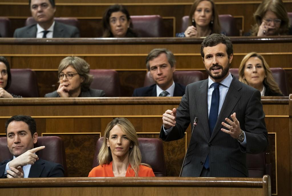 PP Casado congreso sesion 19-2-2020