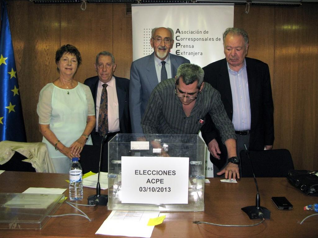 Asamblea Asociación de Corresponsales españoles. Foto: ACPE