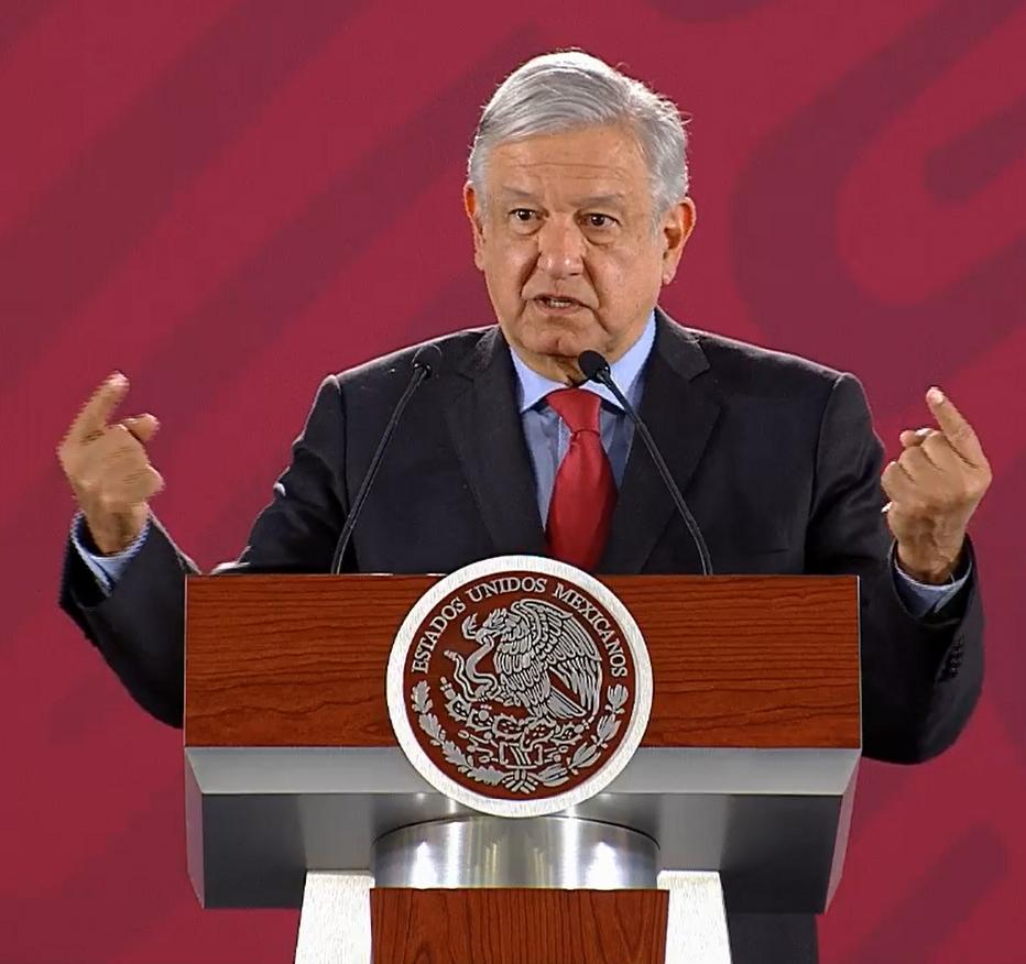 AMLO Andres Manuel Lopez Obrador Presidente Mexico marzo 2019