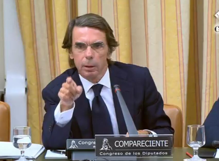 Aznar Comision a Iglesias 18-9-2018