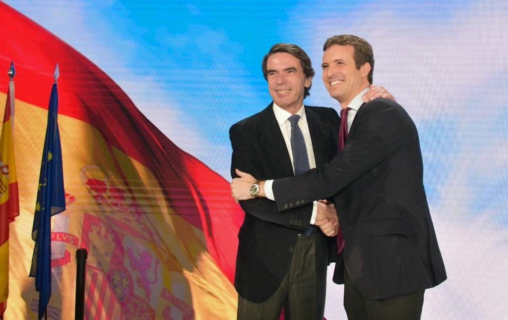 Aznar y Casado COnvencion PP enero 2019