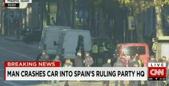 CNN-sedePP-coche-estrellado