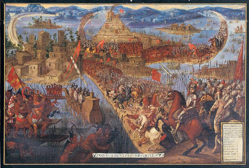 COcnquista Tenochtitlan Mexico
