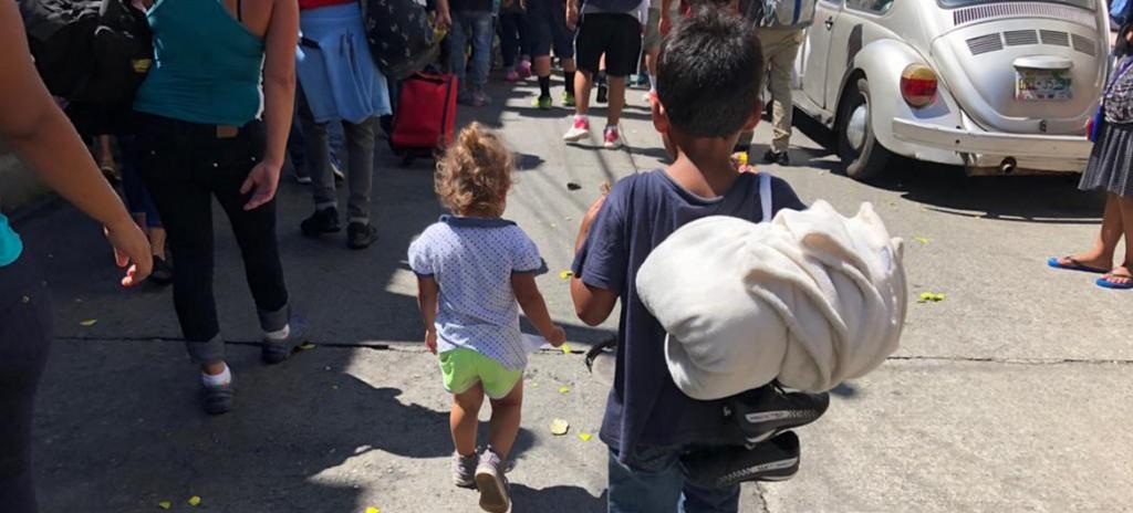 Caravana Migrante a EEUU -  UNICEF México