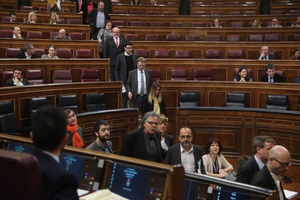 Carles Campuzano Abandono Congreso por Homs
