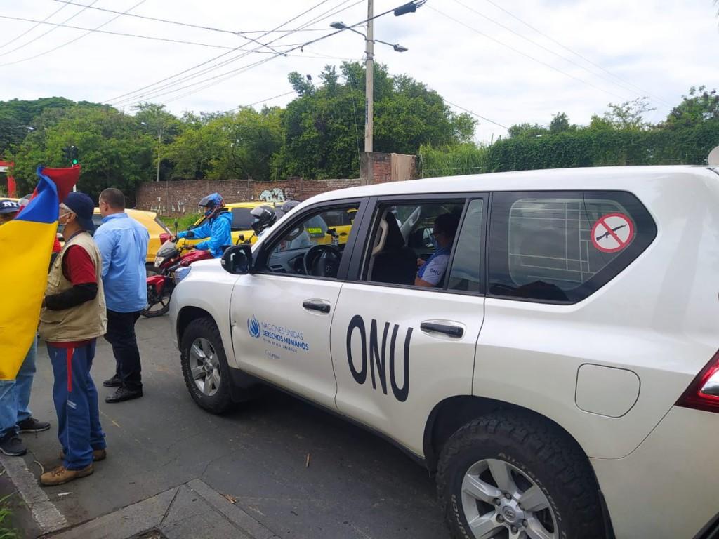 Cali Colombia ONU 3-5-2021 tras protestas