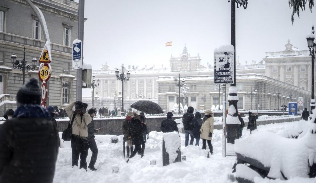 Madrid nieve 9-1-2021