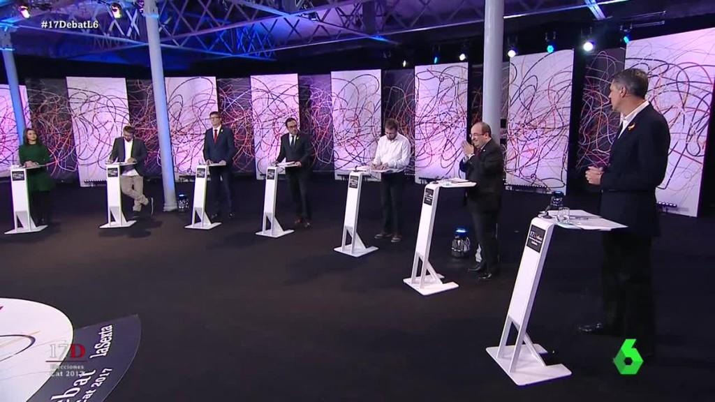 Debat 21D Elecciones catalanas LA Sexta 18-12-2017