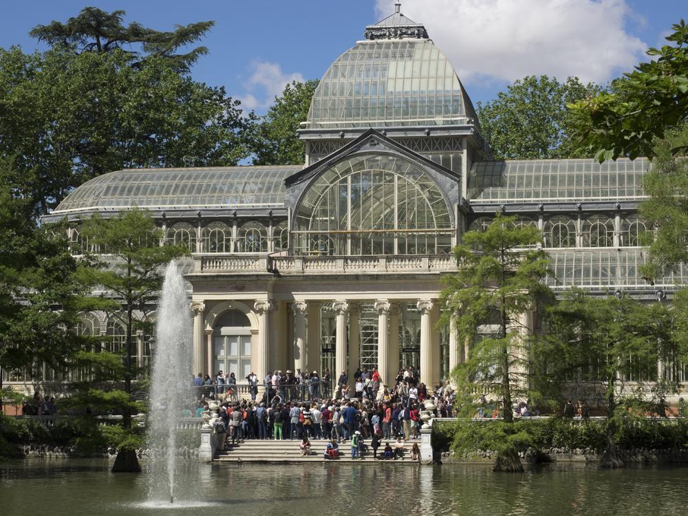 Desvirtualizacion Palacio Cristal retiro