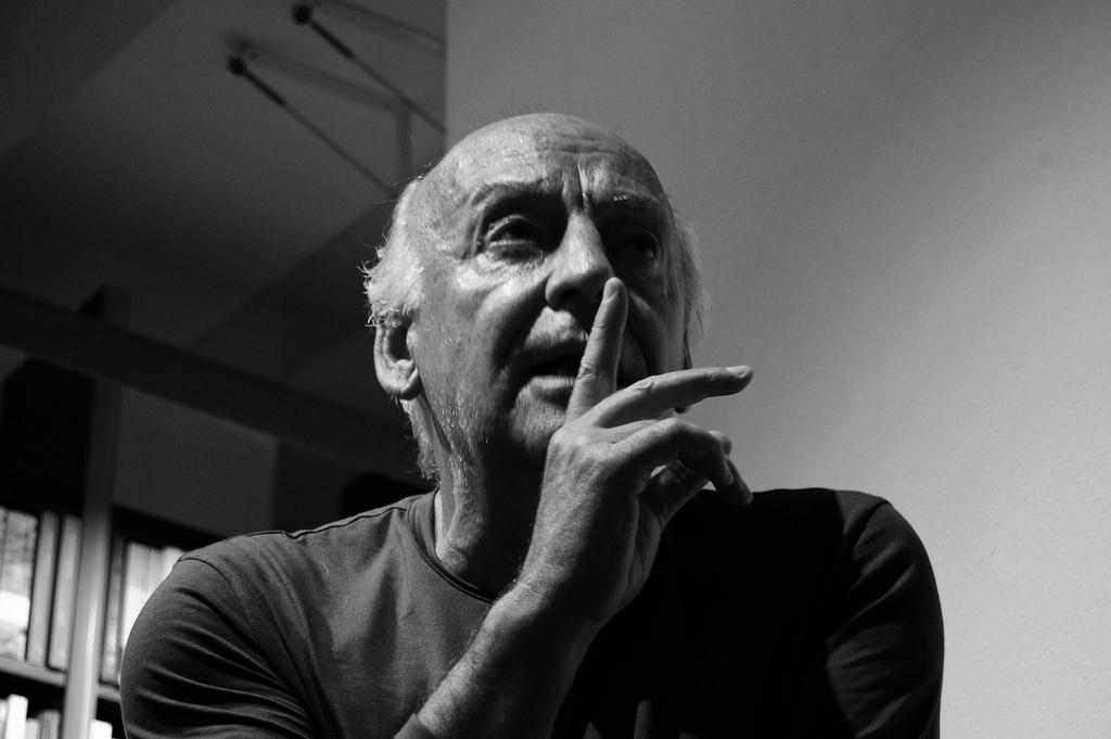 Eduardo Galeano. 2008. Italia/ Imagen: Mariela De Marchi Moyano (Flickr)