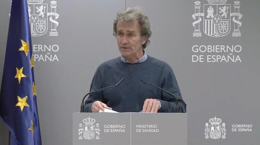 Fernando Simon informando coronavirus