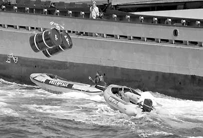 Greenpeace fosa atlantica residuos radioactivos