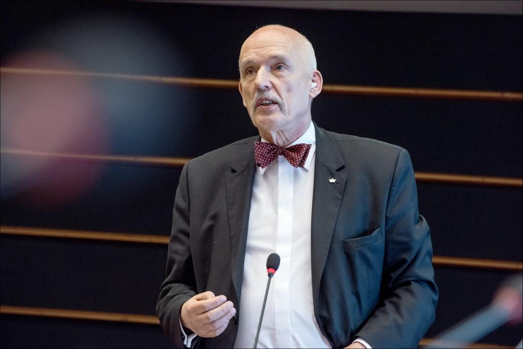 Janusz Korwin-Mikke eurodiputado polaco
