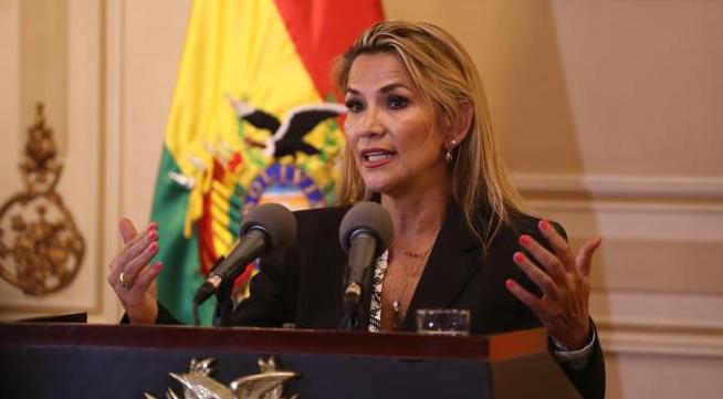 Jeanine añez bolivia