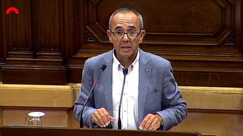 Joan coscubiela aprobacion ley referendum parlament