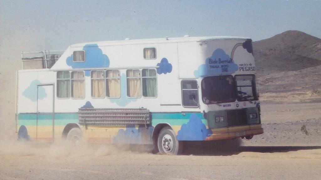 Josu Iztueta camion mudanzas por el mundo
