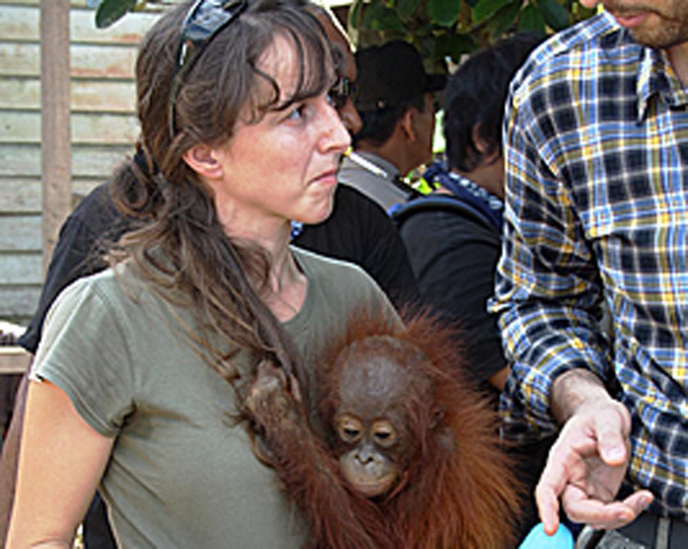 Karmele llano orangutanes jane goodall española