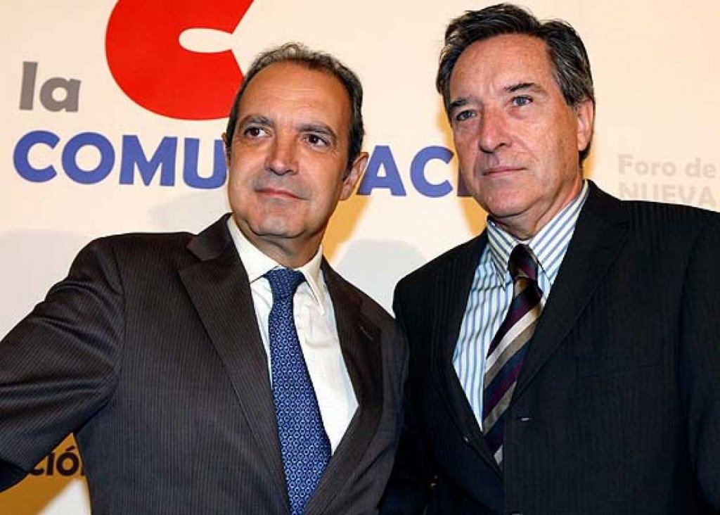 Luis Fernandez Iñaki Gabilondo RTVE