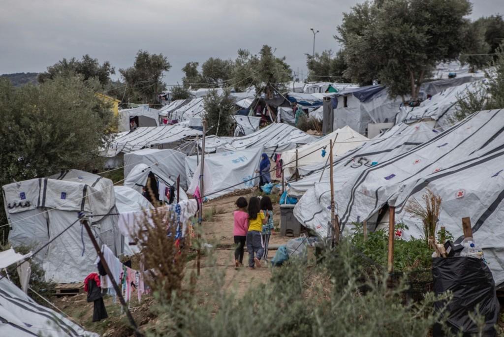 MSF - campo refugiados grecia