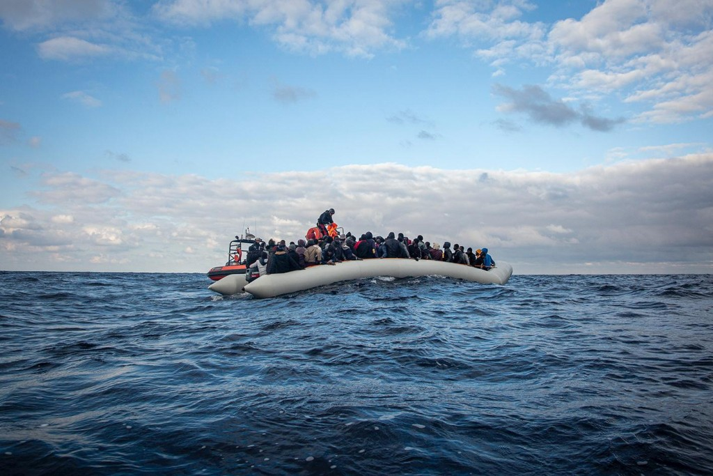 MSF - rescate 182 personas 18-2-2020