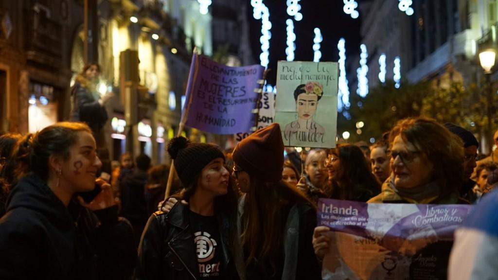 Manifestacion contra la violencia machista 25N 2017