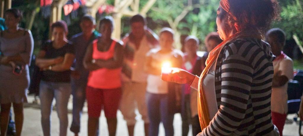 ONU - Colombia- Líderes comunitarias rinden homenaje a activistas sociales asesinados en el Chocó, en Colombia