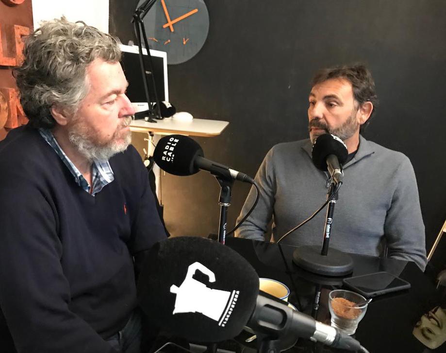 Oscar Camps y Juan L Uralde