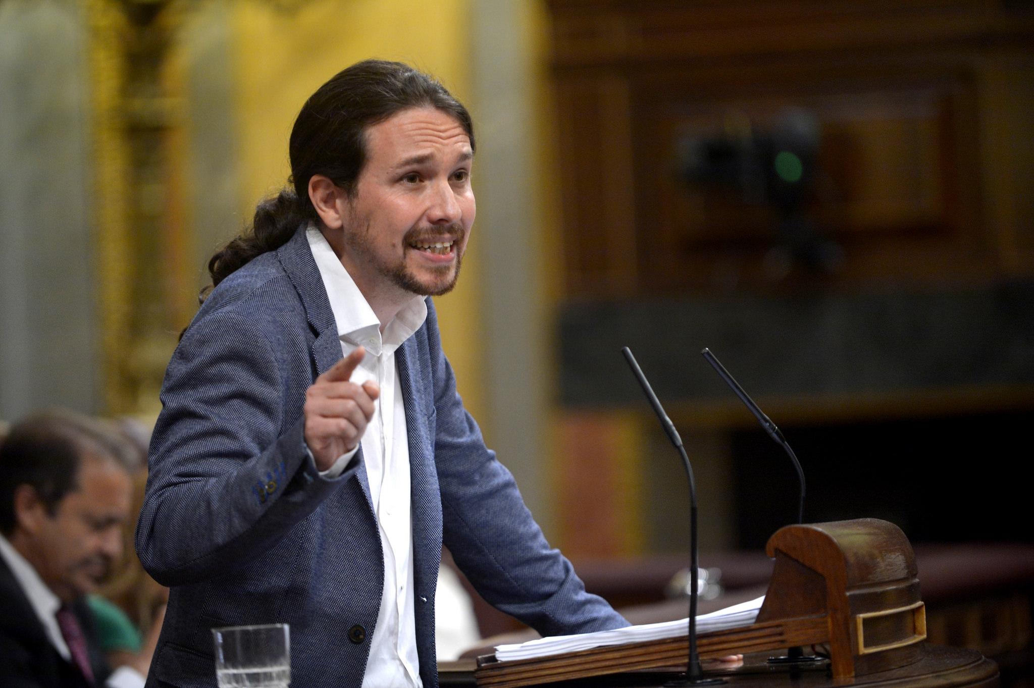 PAblo Iglesias Mocion de Censura