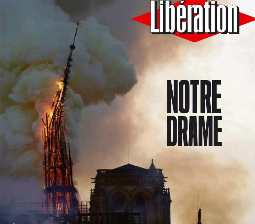 Portada Liberation Notre Dame Incendio -recorte