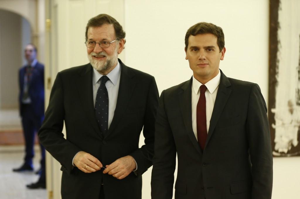 Rajoy y Rivera 2 de octubre de 2017