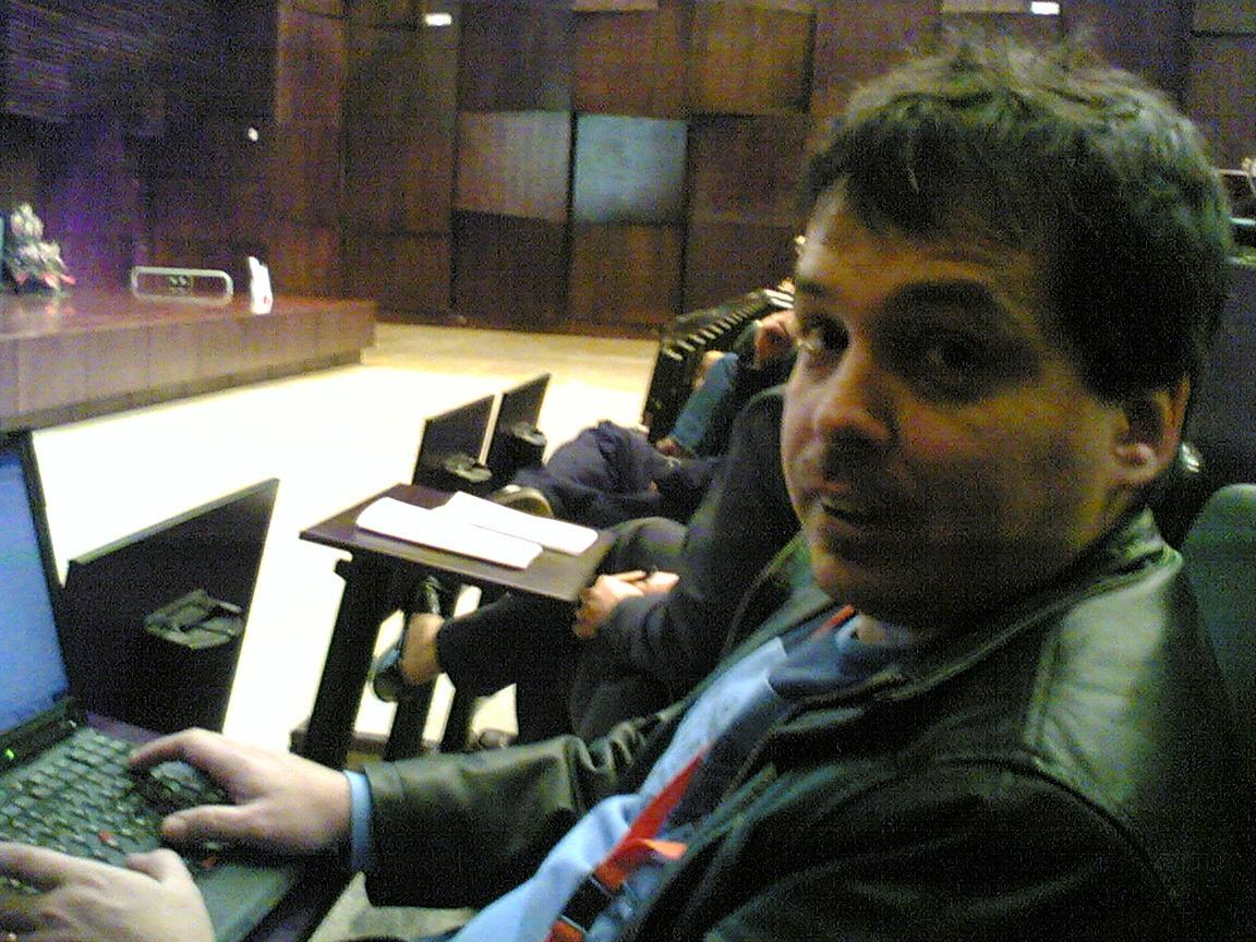 Ricardo Galli. (meneame.net - Foto Enrique Dans)