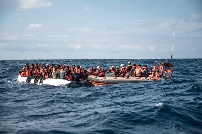 Sea Watch rescate migrantes mediterraneo 19-2-2020