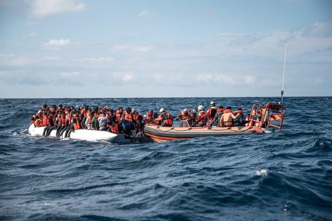 Sea Watch rescate migrantes mediterraneo 19-2-2020