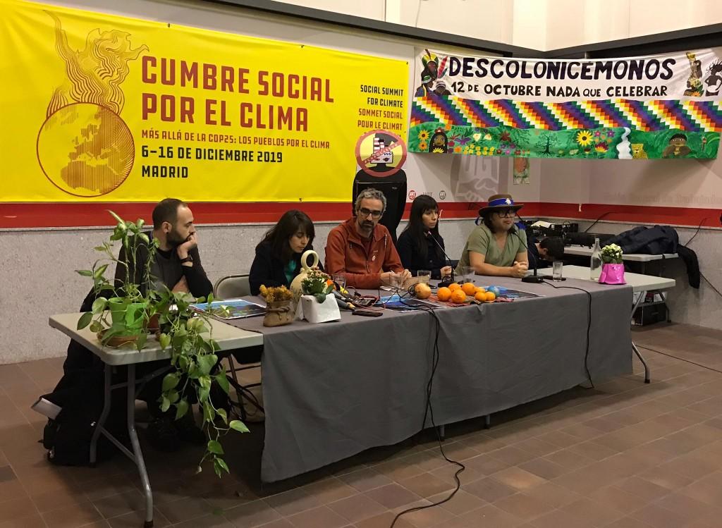Contracumbre Cumbre Social por el Clima Madrid 4-12-2019