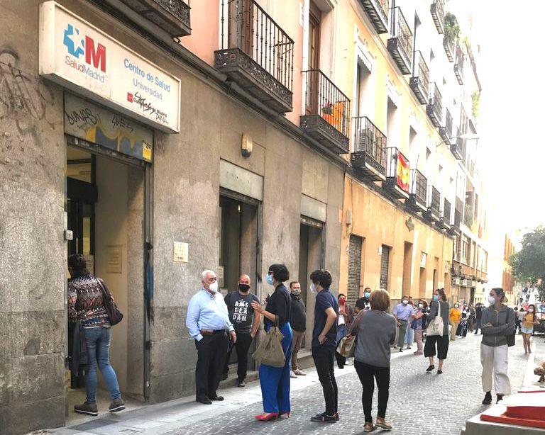 Centro salud Madrid Calle Palma 2020