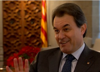 artur mas,entrevista,bbc,presidente,catalan,generalitat