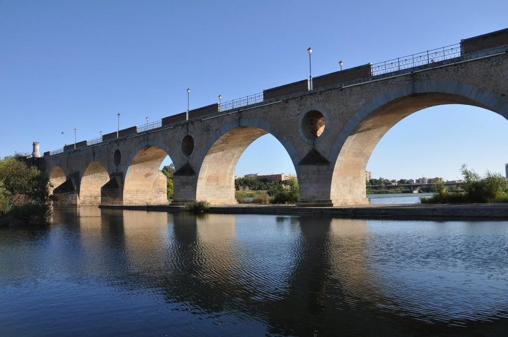 badajoz puente de palmas rio