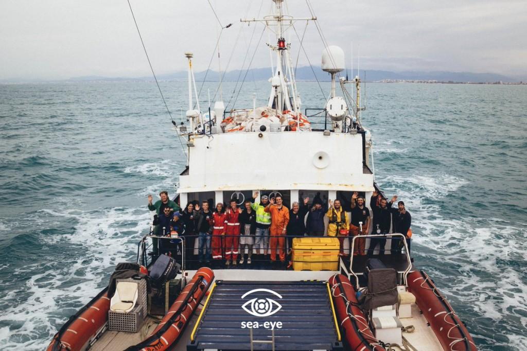 barco rescate alan kurdi ong sea eye i proemaid