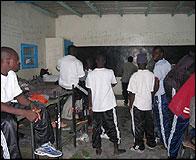 El centro de retencion de Nouadhibou